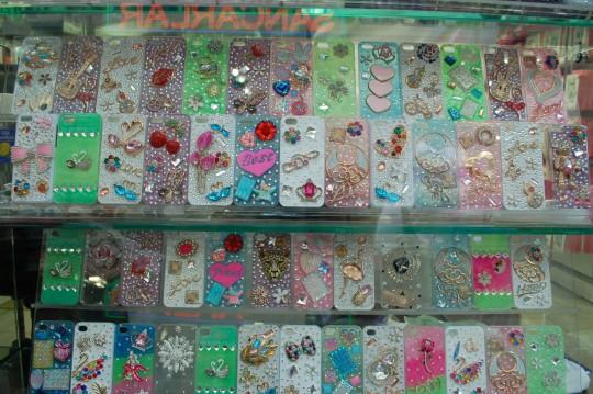 Adornos para niñas, fundas de móviles...