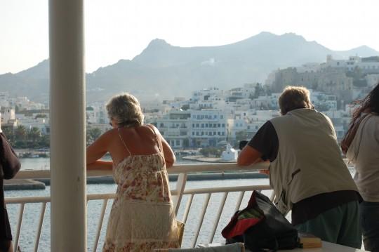 Solo un vistazo a la bella Naxos.