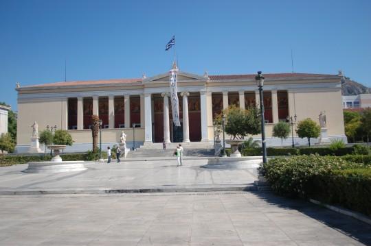El Museo Arqueológico Nacional, lleno de tesoros, y ante el cual Alexis Tsipras celebró su victoria.