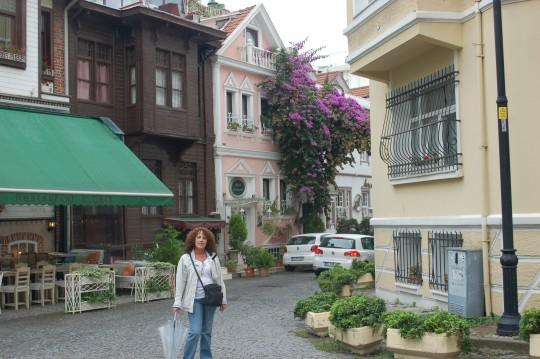 Cuando escampa en el barrio de Cankurtaran de Estambul.