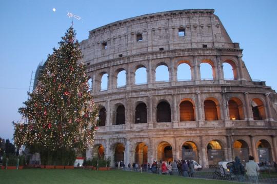 El Coliseo, en la tarde del 31 de diciembre de 2014.