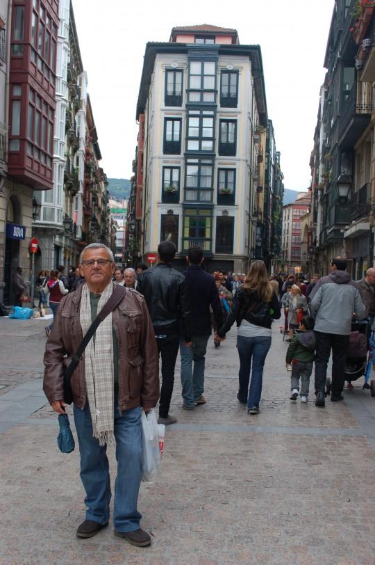 En el Portal de Zamudio, centro de las Siete Calles.