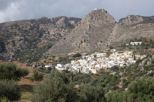Vista panorámica de Pefki, el pueblo cretense donde tenemos nuestro trocito.