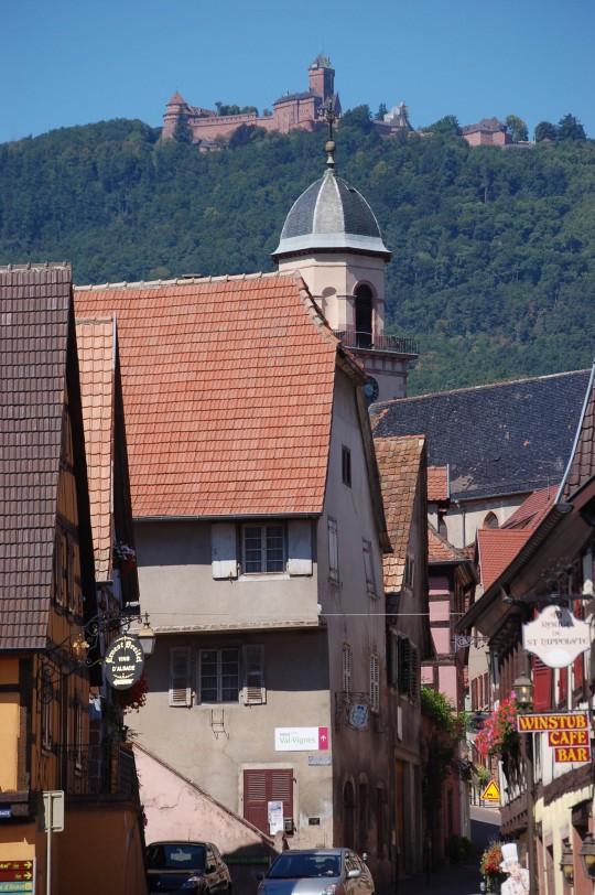 Haut Koenigsbourg desde Saint Hyoplite