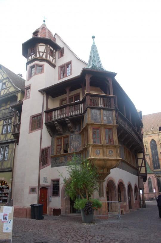 La Casa Pfister, uno de los emblemas de Colmar.