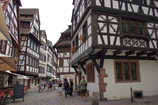 La Rue des Bains Aux Plantes, antiguo barrio de los curtidores de Estrasburgo.