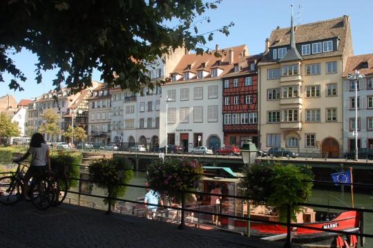 El Ill es el río de Estrasburgo,  y delimita el casco antiguo.