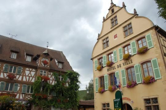 Un ayuntamiento precioso en Turckheim.