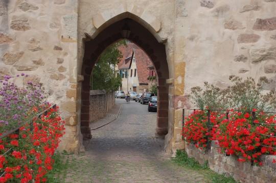 La muralla de Turckheim.