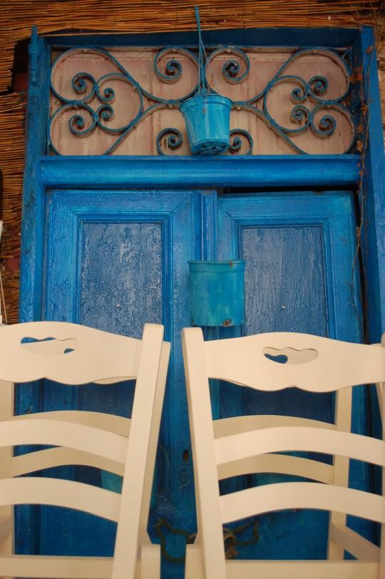 Un establecimiento, a la espera de que comience la temporada, en La Canea.