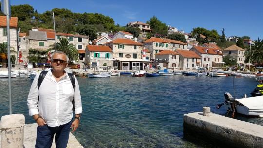En Maslinica, el puerto más 'turístico'.