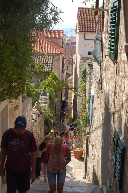 Calles del interior de la ciudad.