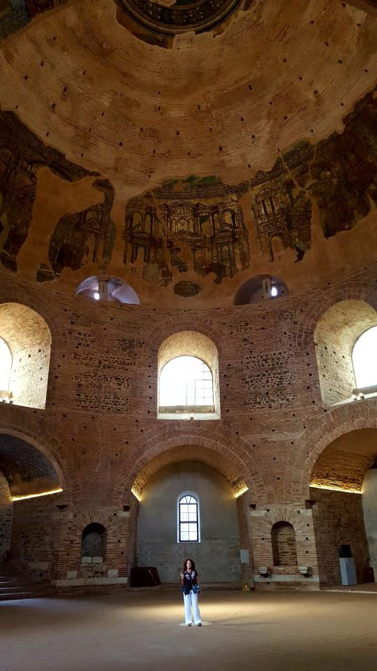 El impresionante interior de la Rotonda.