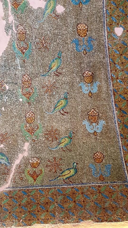 Mosaicos en el interior de la Rotonda.