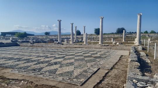 Restos de Pella, ciudad natal de Alejandro el Grande.