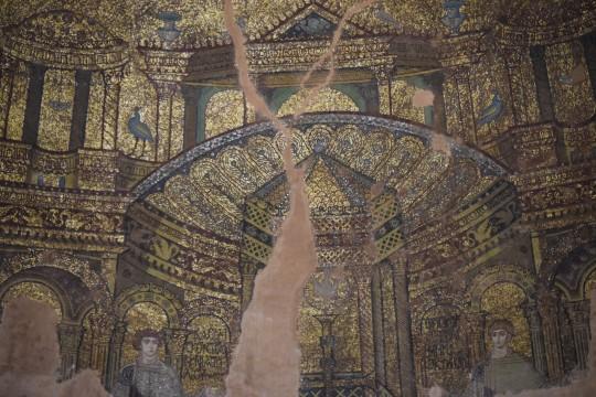 Mosaicos en la Rotonda de Tesalónica.
