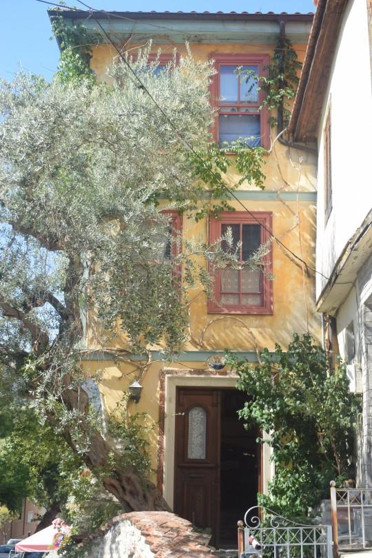 Trazas indudablemente otomanas en el casco histórico de Kavala.