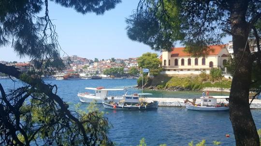 Una vista de Neos Marmaras.