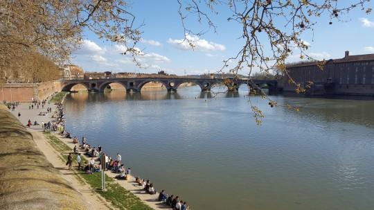 El Pont Neuf, sobre el Garona.