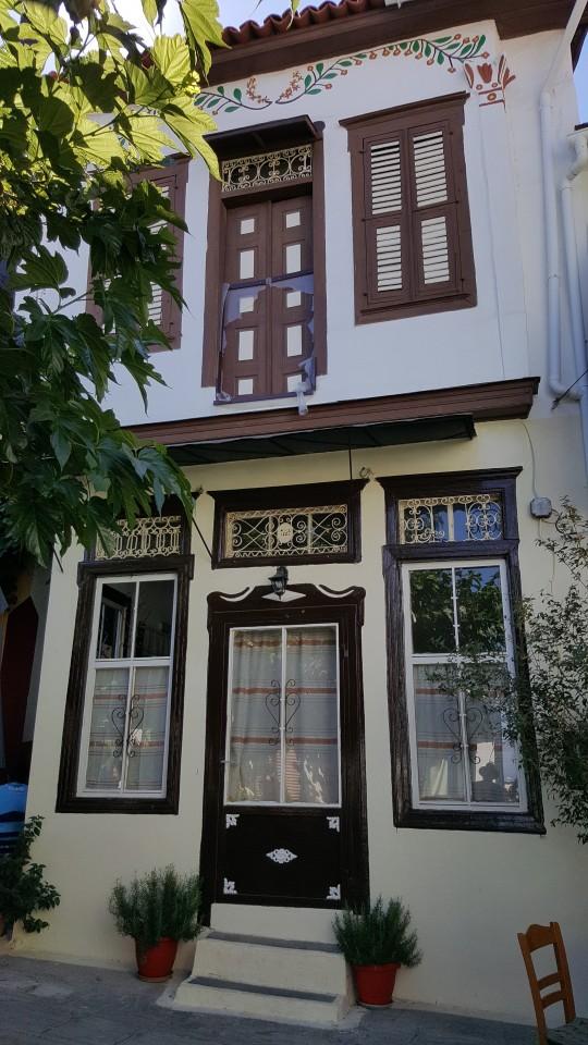 Una típica casa de Vourliotes.