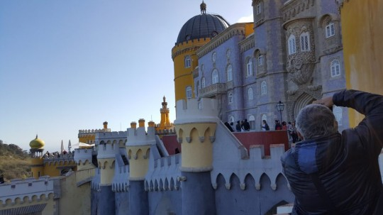 El Palacio da Pena, desde su interior.