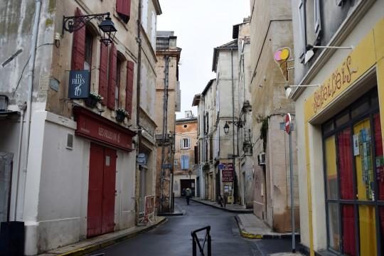 Una calle de Arles.