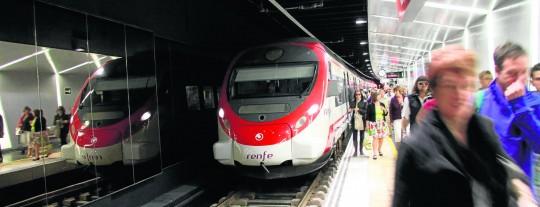 Tren de la línea de Cercanías