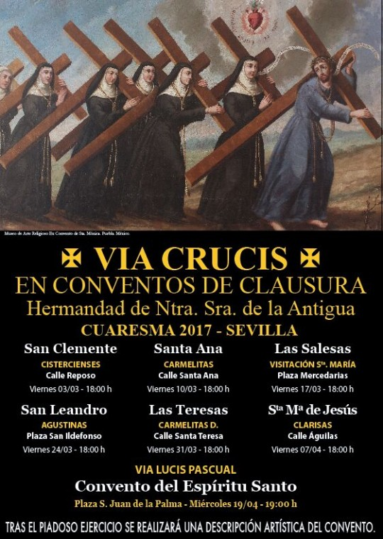 via crucis hermandad de la antigua