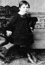 Einstein de niño