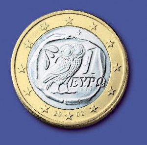 moneda euro-Grecia