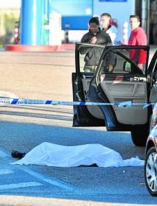 Un muerto en el Pol¿gono Calonge junto a la gasolinera Saras