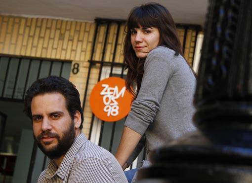 Pedro Jiménez y Sofía Coca. / Foto: Victoria Hidalgo