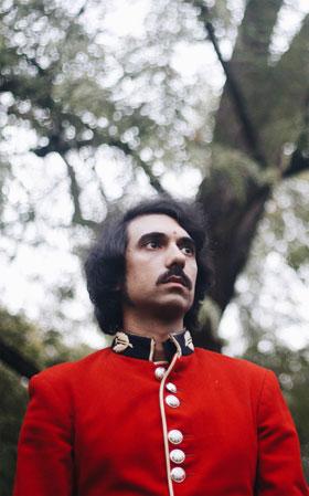 Quintín Vargas, alias Quentin Gas, en una imagen promocional para 'Big Sur'. / Ana Mellado