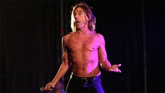 Iggy Pop, durante su actuación junto a The Stooges en Territorios 2012. / Foto: Juan Carlos Muñoz